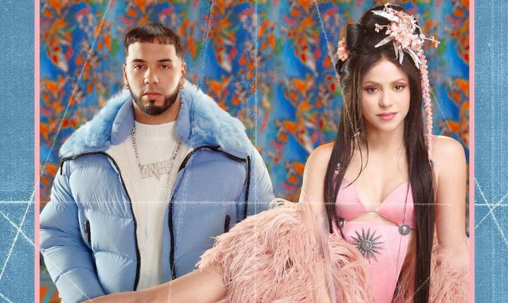 Shakira sorprende con 'Me Gusta' junto a Anuel AA