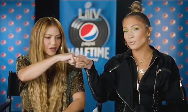 Así Jennifer López le enseñó a Shakira a hacer «twerking»