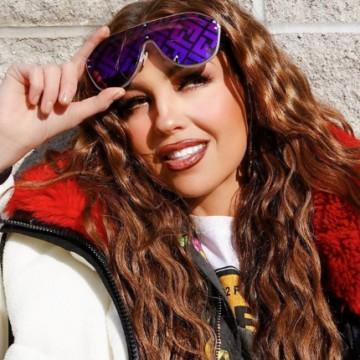 Thalía descubre un nuevo talento durante su confinamiento