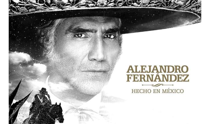 Alejandro Fernández lanza su nuevo álbum 'Hecho En México'