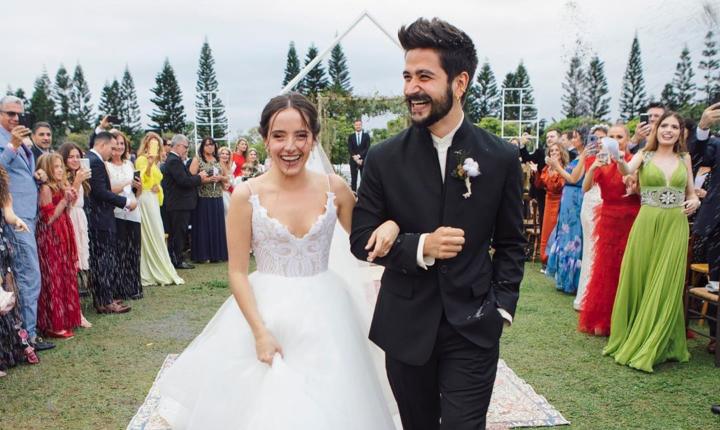 Camilo y Evaluna celebran su primer aniversario