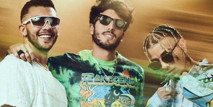 Sebastián Yatra, Manuel Turizo, Rauw Alejandro