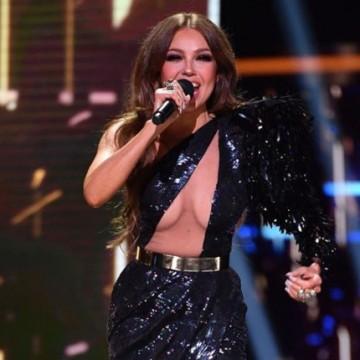 Thalía confesó su amor a famoso actor en Premios Lo Nuestro