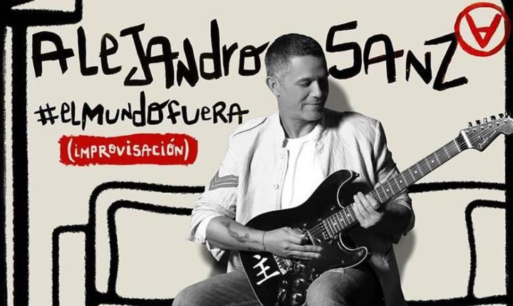 'El Mundo Fuera', la canción de Alejandro Sanz inspirada en el aislamiento