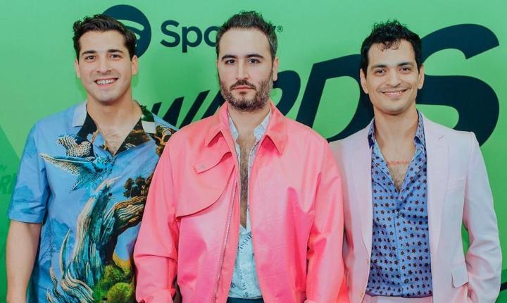 Reik, los mexicanos más escuchados en los Spotify Awards