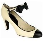 zapatos tacón mediano coco chanel