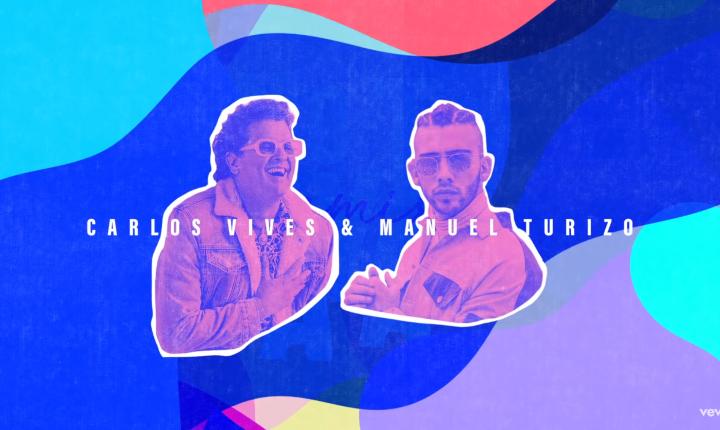 Carlos Vives y Manuel Turizo lanzan versión remix de 'No Te Vayas'