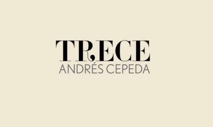 Andrés Cepeda lanza su nuevo álbum 'Trece'