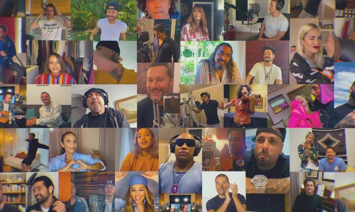Artistas se unen para nueva versión de 'Color Esperanza'