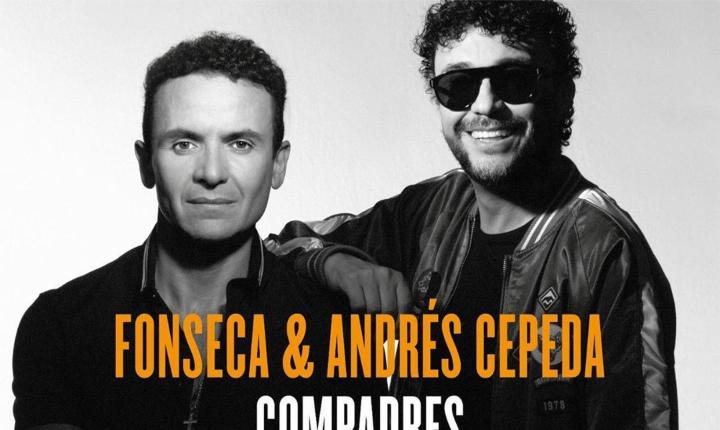 Fonseca y Andrés Cepeda presentan su nuevo álbum 'Compadres'