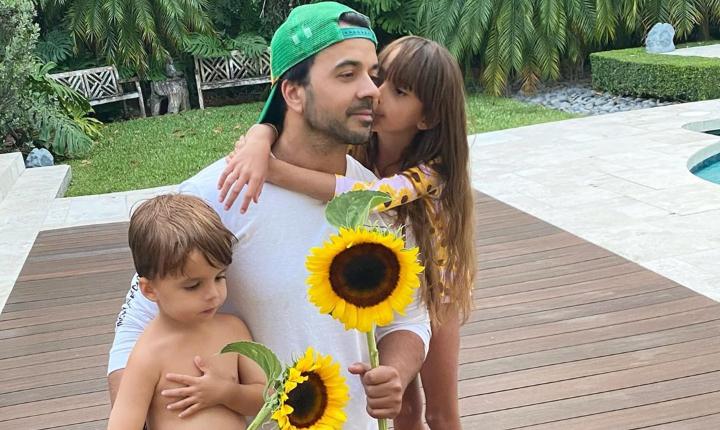 Luis Fonsi confiesa si le gustaría tener más hijos