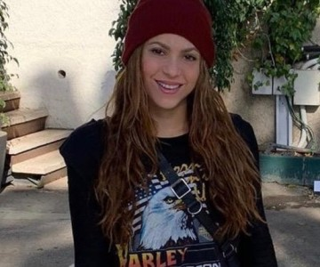 Shakira presume de su nuevo hobby en redes