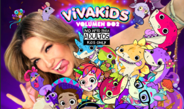 Thalía crea un universo mágico con 'Viva Kids 2'