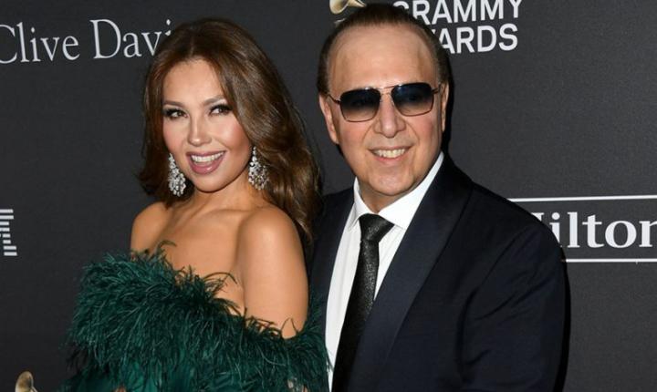 Thalía revela el secreto de su matrimonio con Tommy Mottola