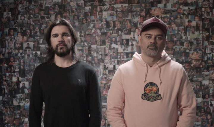 Juanes estrena 'Pasarán' junto a Nach