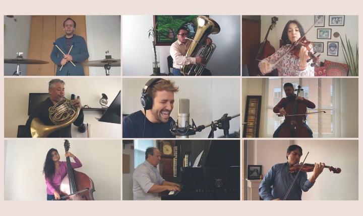 Pablo Alborán y Sinfónica de Colombia presenta nueva versión de 'Cuando Estés Aquí'