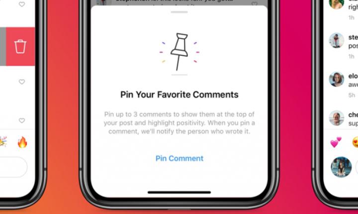 Anclar comentarios en Instagram, ¿Cómo funciona?