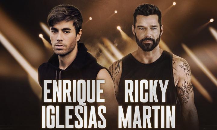 Enrique Iglesias y Ricky Martin posponen gira para el 2021