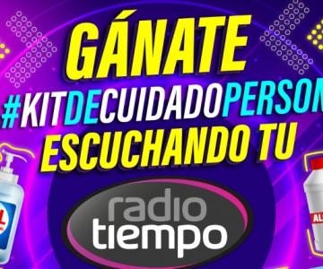 ¡Gánate el #KitDeCuidadoPersonal con Radio Tiempo!