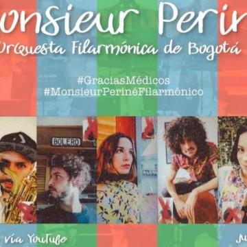 Monsieur Periné y Orquesta Filarmónica De Bogotá se unen para homenaje a servicio médico