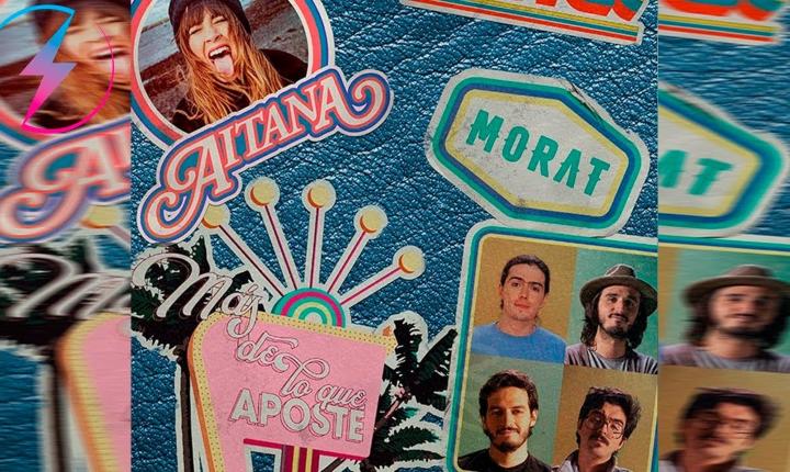 Morat y Aitana cantan juntos nuevamente en 'Más De Lo Que Aposté'