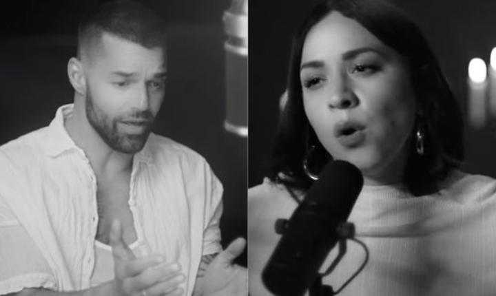 Ricky Martin presenta video de 'Recuerdo' junto a Carla Morrison