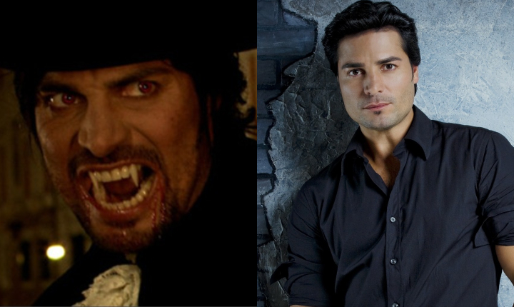 La vez que Chayanne se convirtió en un vampiro