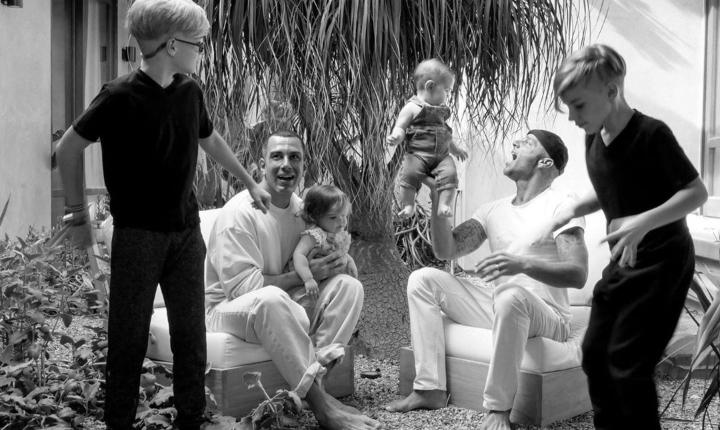 Llega nuevo integrante a la familia de Ricky Martin