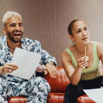 Jennifer López anuncia dos canciones con Maluma