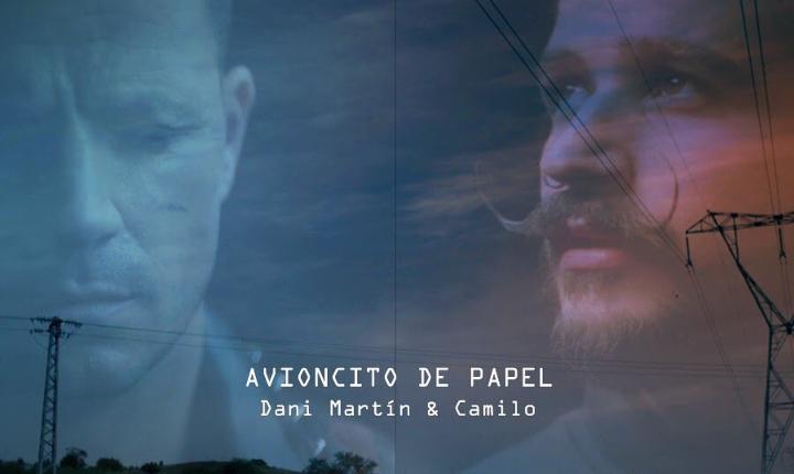 Dani Martín y Camilo presentan 'Avioncito De Papel'