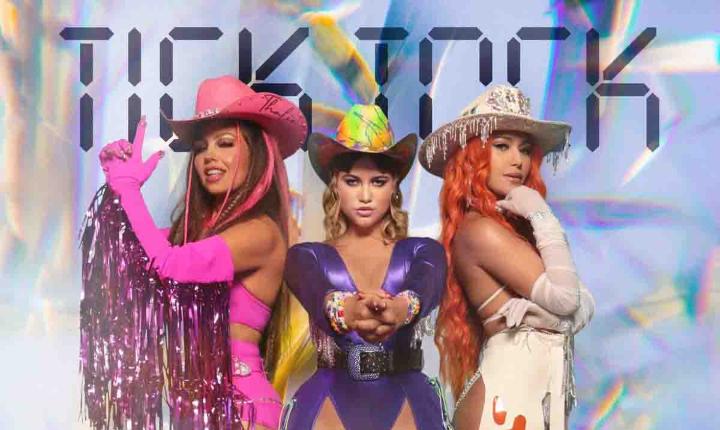 Thalía, Farina y Sofía Reyes estrenan el tema 'Tick Tock'