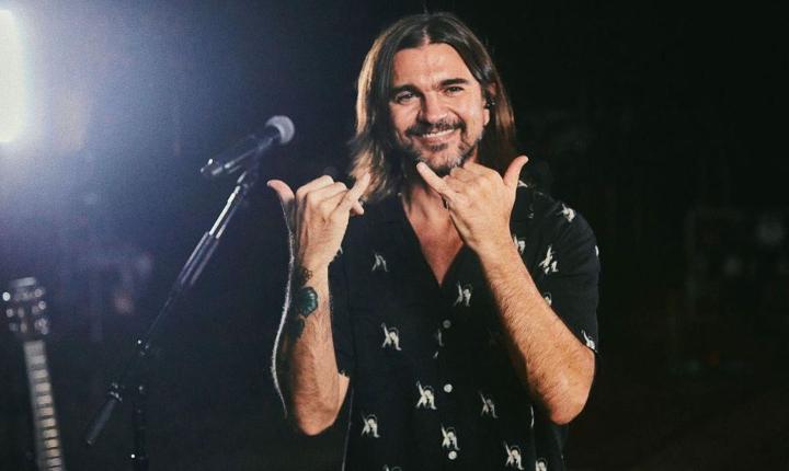 Juanes se muestra feliz en redes, conoce aquí la razón