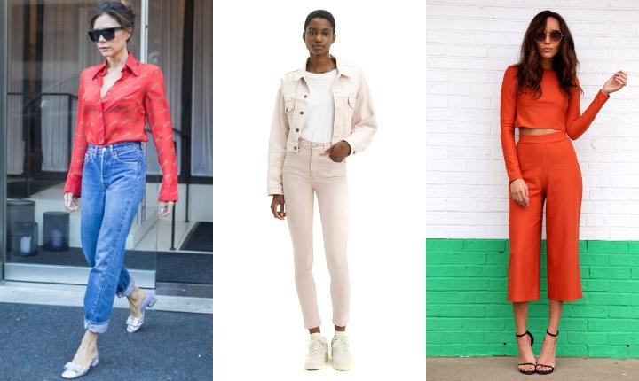 Cuatro tipos de pantalones ideales para toda ocasión