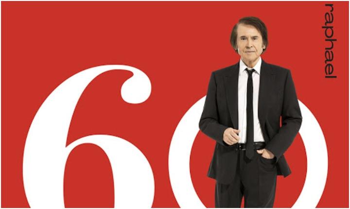 Junto a grandes artistas, Raphael celebra 60 años en los escenarios