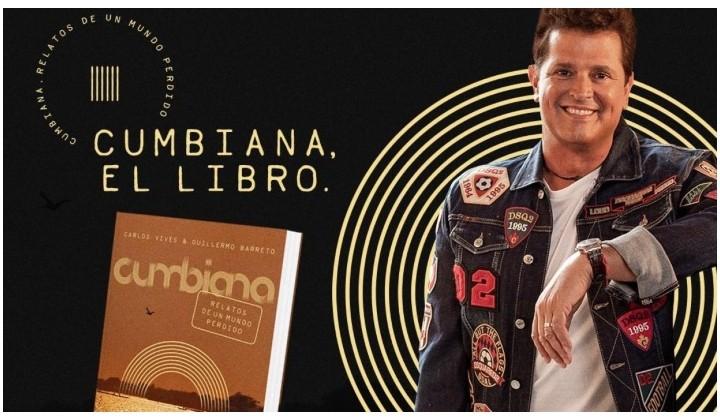 El álbum Cumbiana, inspiración de Carlos Vives para lanzar libro