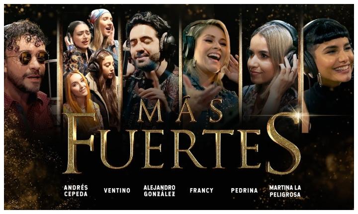 Más fuertes, la canción que unió a Andrés Cepeda y Ventino.