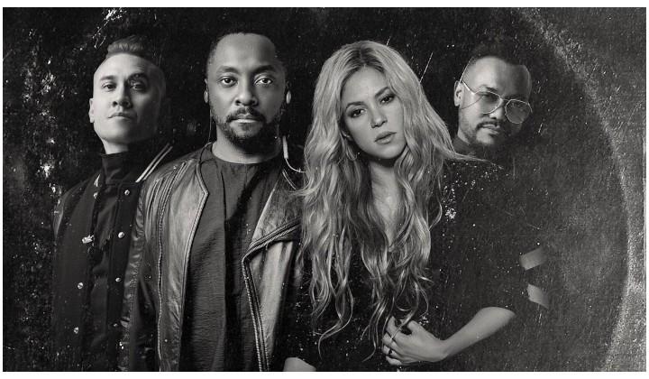 Shakira y los Black Eyed Peas estrenan video musical