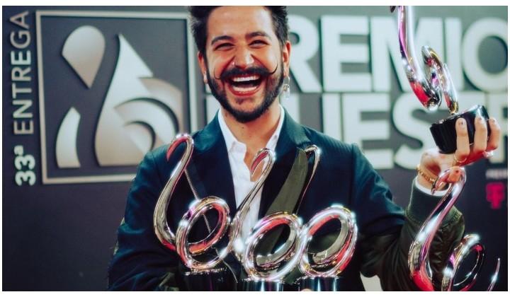 Camilo brilló en los Premios Lo Nuestro