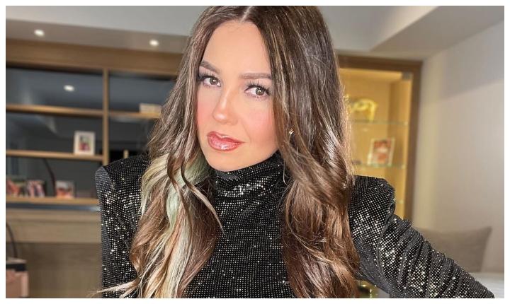 Thalía se unió al 'Silhouette challenge'