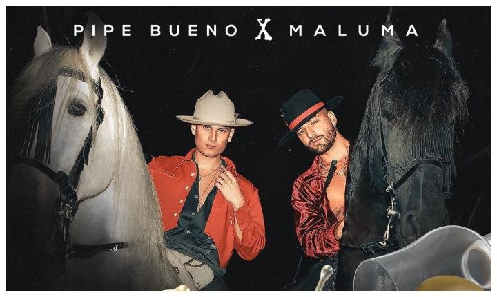 Pipe Bueno anuncia nueva canción junto a Maluma