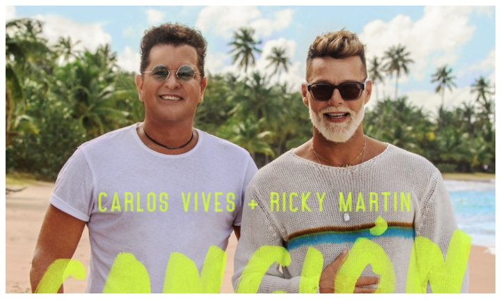 Carlos Vives y Ricky Martin estrenan una «Canción Bonita»