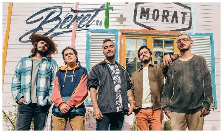 Morat anuncia canción con el cantante español Beret