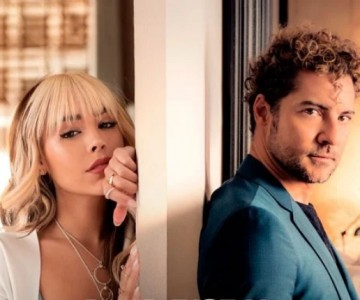 David Bisbal une su voz a Danna Paola en 'Vuelve, Vuelve'