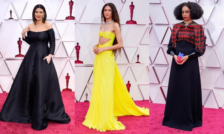 Los mejores y peores vestidos en la alfombra roja de los Óscar 2021