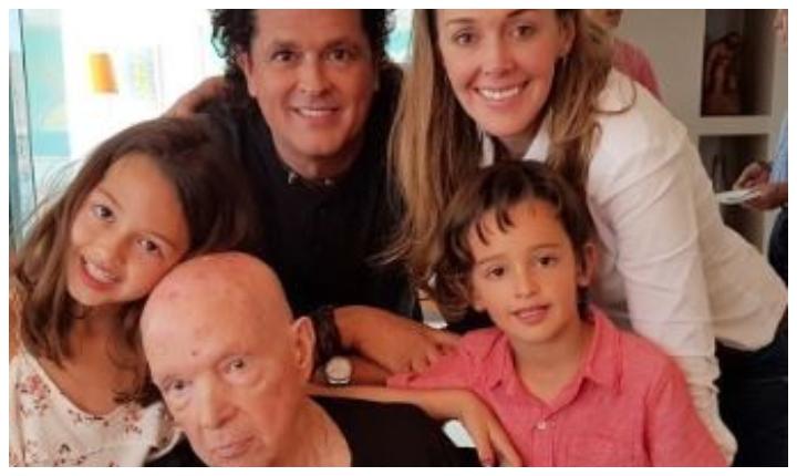 Carlos Vives dedica conmovedor mensaje a su padre