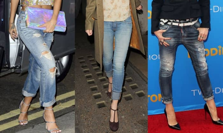 Vuelven los jeans remangados o 'folded up'